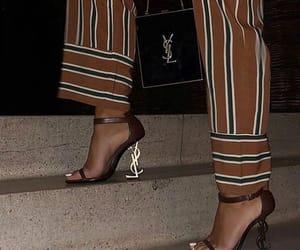 fashion, YSL, and heels image