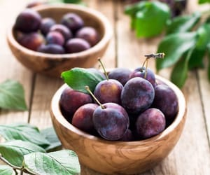 fruit, food, and plum image