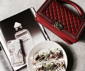 bag, eat, and red image