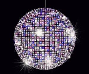 disco ball, overlay, and editing help image