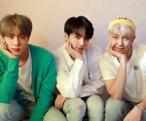 army, seokjin, and jin image