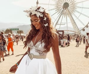 blogger, festival, and fashion image