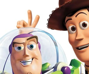 buzz lightyear, toy story, and woody image