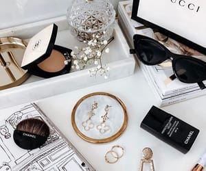 accessories, beauty, and gold image