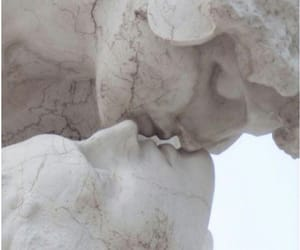 art, statue, and kiss image