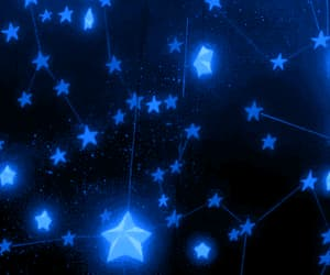 gif and blue stars image
