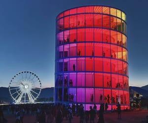 coachella, colors, and festival image