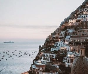 travel, sea, and city image