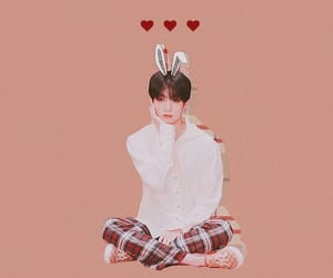 background, bunny, and edit image