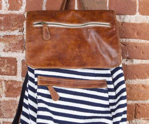 backpack, nautical, and brandy melville image