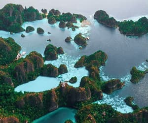 aerial photography, aerial view, and coastline image