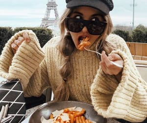 food, girl, and paris image