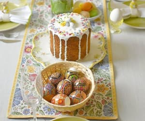 beautiful life, cake, and easter image