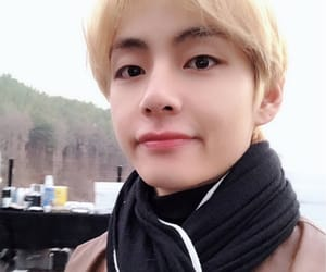aesthetic, bts, and taehyung icon image