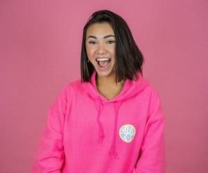 hoodie, pink, and haley pham image