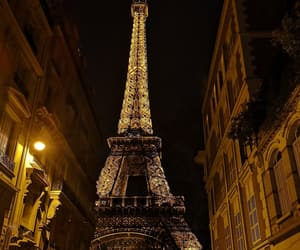 france, paris, and night image
