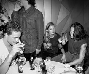 kate moss, johnny depp, and 90s image