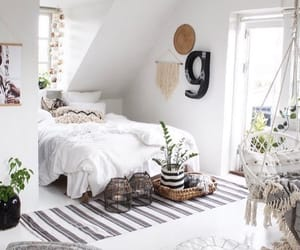 bedroom, cozy, and home design image