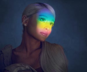 ariana grande, no tears left to cry, and sweetener image