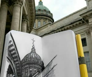 drawing, architect, and architecture image