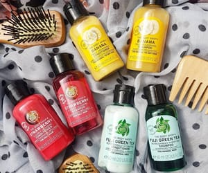 body shop, shampoo, and the body shop image