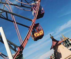 amusement park, california, and california adventure image