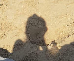 beach, girl, and retro image