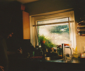 vintage, kitchen, and morning image