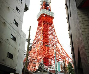 architecture, japanese, and red image