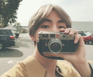 aesthetic, bts, and camera image
