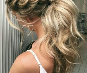 aesthetic, grunge, and hairstyle image