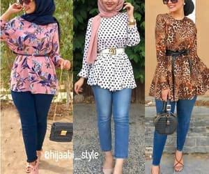 hijab and peplum blouse image