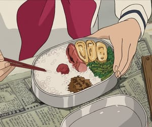 anime, food, and anime food image