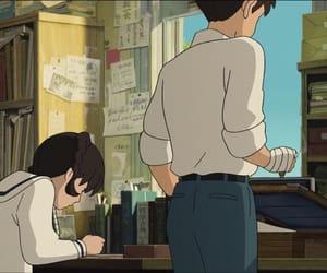 anime, books, and ghibli image