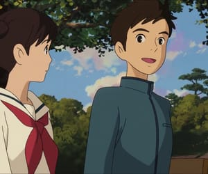 anime, ghibli, and from up on poppy hill image