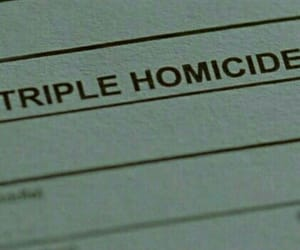 homicide and murder image