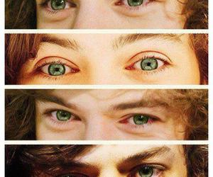 Harry Styles, one direction, and eyes image