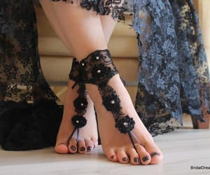 etsy, barefoot sandals, and weddings image