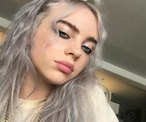 curls, billie eilish, and billie image