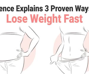 health, weight loss, and science image