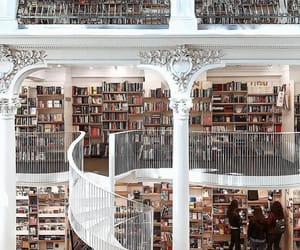 book, beautiful, and library image