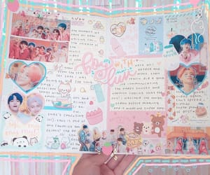 journal, kpop, and pastel image