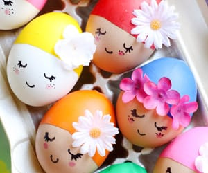 beauty, easter, and egg image