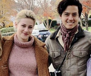 cole sprouse, lili reinhart, and riverdale cast image
