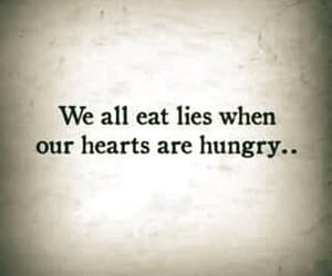 quotes, lies, and hungry image