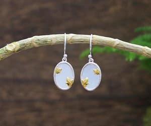 etsy, hoop earrings, and birthday present image