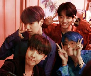 idol, bts, and map of the soul image