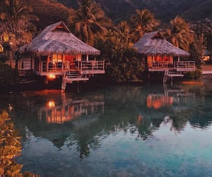 beautiful, photography, and french polynesia image