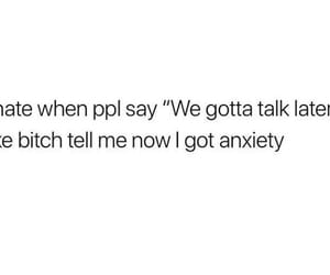 anxiety, funny, and memes image