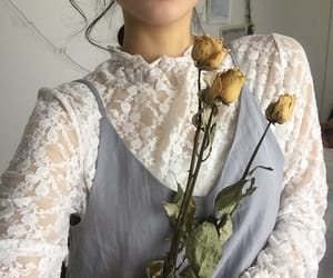 aesthetic, flowers, and asian image